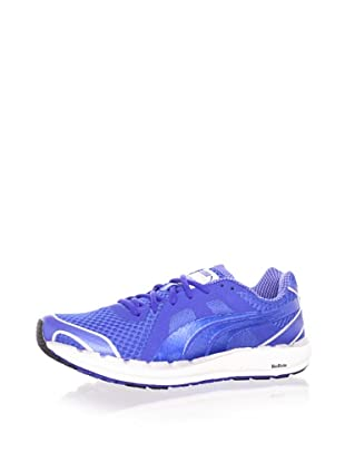 PUMA Men's Faas 550 Running Shoe (Royal/silver/white)