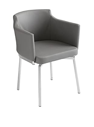 Sunpan Garcia Swivel Chair, Grey