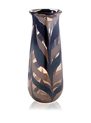 Leopard Cylinder Vase