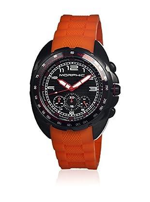 Morphic Reloj con movimiento cuarzo japonés Mph2506 Naranja 43  mm