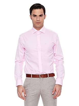 Pedro del Hierro Camisa Non Iron Falso Liso (Rosa)