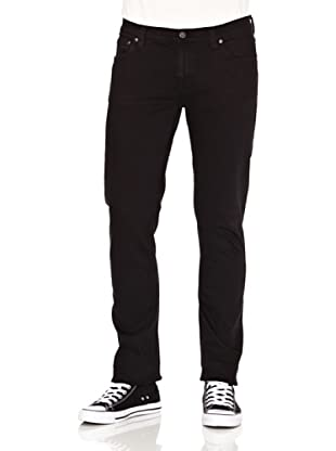 Nudie Jeans Pantalón Tube Kelly (Negro)