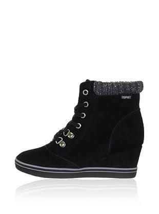 Esprit Keil-Sneaker (Schwarz)