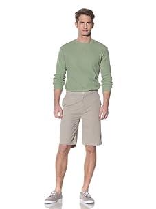 Nüco Men's Seersucker Shorts (Khaki)