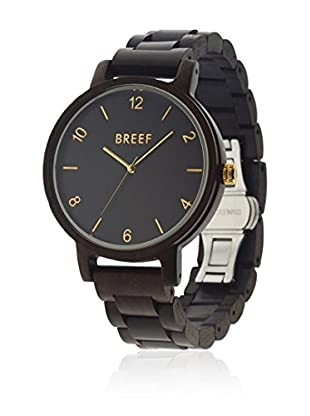 BREEF WATCHES Reloj con movimiento cuarzo japonés Unisex Unisex EBANO CLASSIC 45 mm