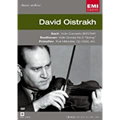David Oistrakh: Violin: Bach / Beethoven / Prokofiev [DVD] [Import]