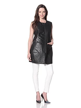 Cote by IMPROVD Women's Ciera Reversible Vest (Black)