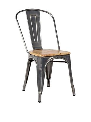 LO+DEMODA Stuhl 2er Set Terek Vintage Wood