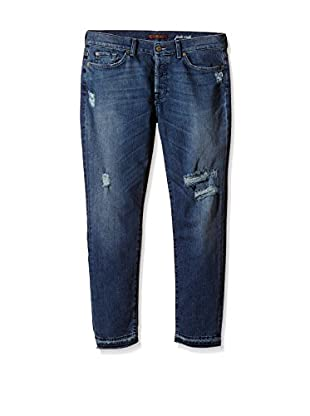 7 For All Mankind Jeans Josie Crop Unrolled