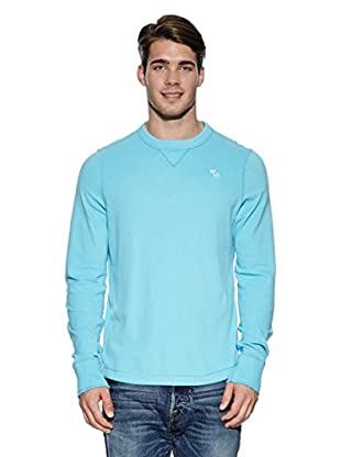 Abercrombie & Fitch Pullover Classic Crew (türkis)