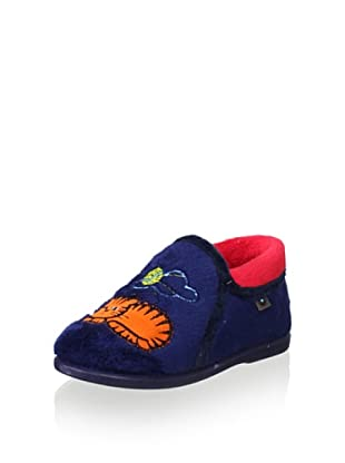 Conguitos Kid's Cat Slip-On (Navy)