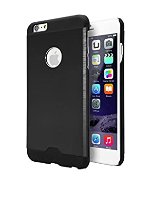 UNOTEC Funda Metal iPhone 6 / 6S Plus Negro