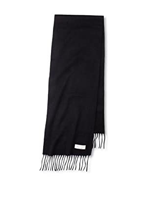Joseph Abboud Men's Narrow Solid Scarf (Black)