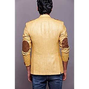 Azio Design MTLB Linen Blazer