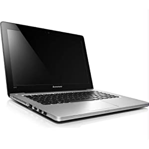 Lenovo Ideapad U310 (59-342832) Ultrabook (3rd Gen Ci5/ 4GB/ 500GB + 24GB SSD/ Win7 HB) (Graphite Grey)