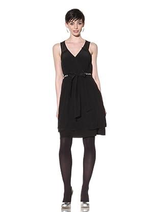 Project Alabama Women's Pleated Dress (Black)