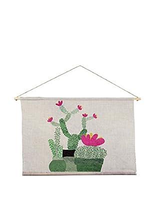 Surdic Wandteppich Cactus