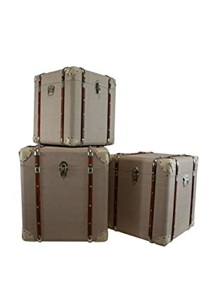 The Import Collection Set of 3 Catalina Trunks, Tan