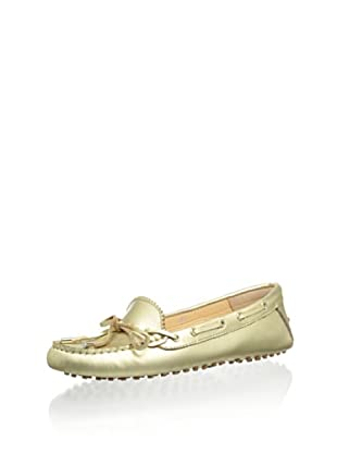 Patricia Green Women's Amy Tie Moc (Champagne)
