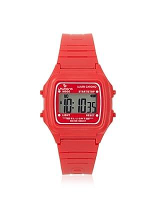 Laurens L116J913Y Red Rubber Digital Multifunction Watch