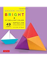 "Origami Paper - Bright - 6"" - 49 Sheets: (Tuttle Origami Paper)"