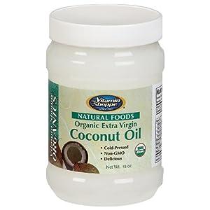 the Vitamin Shoppe - Organic Extra Virgin Coconut Oil, 15 oz solid