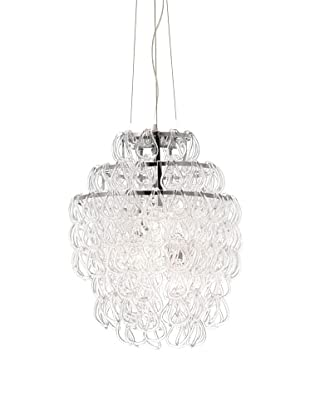 Zuo Cascade Ceiling Lamp, Chrome
