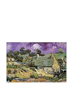 ArtopWeb Panel de Madera Van Gogh Chaumes de Cordeville À Auvers-Sur-Oise