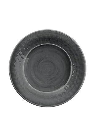 Color Wash Melamine Salad Plate, Solid Grey