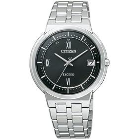 【クリックで詳細表示】[シチズン]CITIZEN 腕時計 EXCEED エクシード Eco-Drive エコ・ドライブ 電波時計 薄型モデル EBG74-2811 メンズ: 腕時計通販