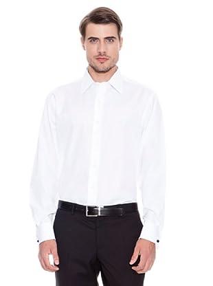 Brooks Brothers Camisa Vestir Steven (Blanco)
