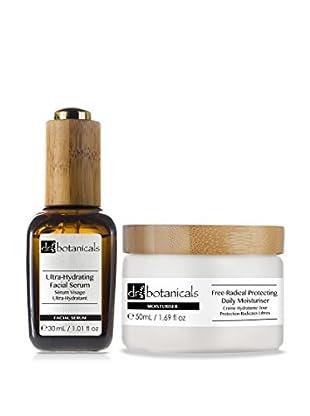 Dr Botanicals Set Facial Ultra-Hydrating Facial Serum + Free-Radical Protecting Daily Moisturiser