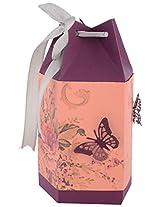 Clea favors Paper Chocolate Box (8 cm x 8 cm x 15 cm, Purple)