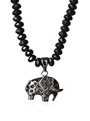 Electric Picks Morocco Elephant Charm Necklace