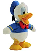 Disney Donald Duck with Walking and Seinging Wings Module with Crazy Duck Music, Multi Color (12.5-inch)