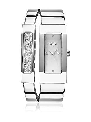 SO & CO New York Uhr mit japanischem Quarzuhrwerk  silberfarben 34 mm