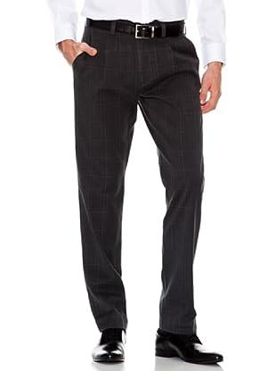 Dockers Pantalón Recto con Pinzas (gris / negro)