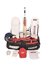 MRF Unique English Willow Cricket Kit, Junior