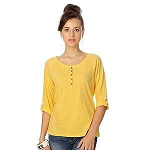 People Women's Regular Fit Shirt Medium