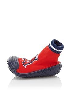 Skidders LA Angels Shoe Socks (Red)