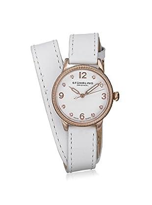 Stührling Women's 646 Vogue White Watch