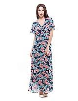 Femella Women's Georgette Dress