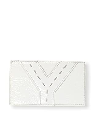 Yves Saint Laurent Women's Credit Card Case, White