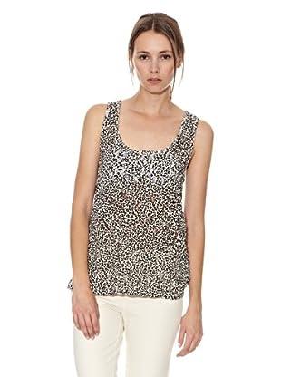 Mango Camiseta Jaguar (Crudo)