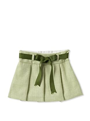 Elephantito Girl's 2-8 Skirt with Bow (Tea)