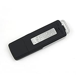 Gadget Advice 4GB USB Flash Drive Voice Recorder Pen Disk Digital Audio 70 hours Recording COVERT Surveillance