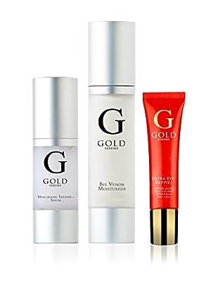 Gold Serums Gesichtshydration Bienengift + Intensiv-Serum Hyaluron Serum Revitalizing Eye