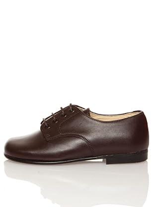 Za-patitos Zapatos Cordones (Marrón)