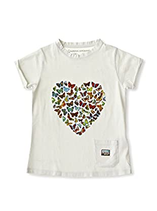 National Geographic Camiseta Butterflies (Gris)