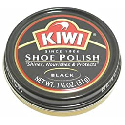 Kiwi Shoe Polish: Black